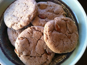 Almond, Cardamom and Maple Cookies